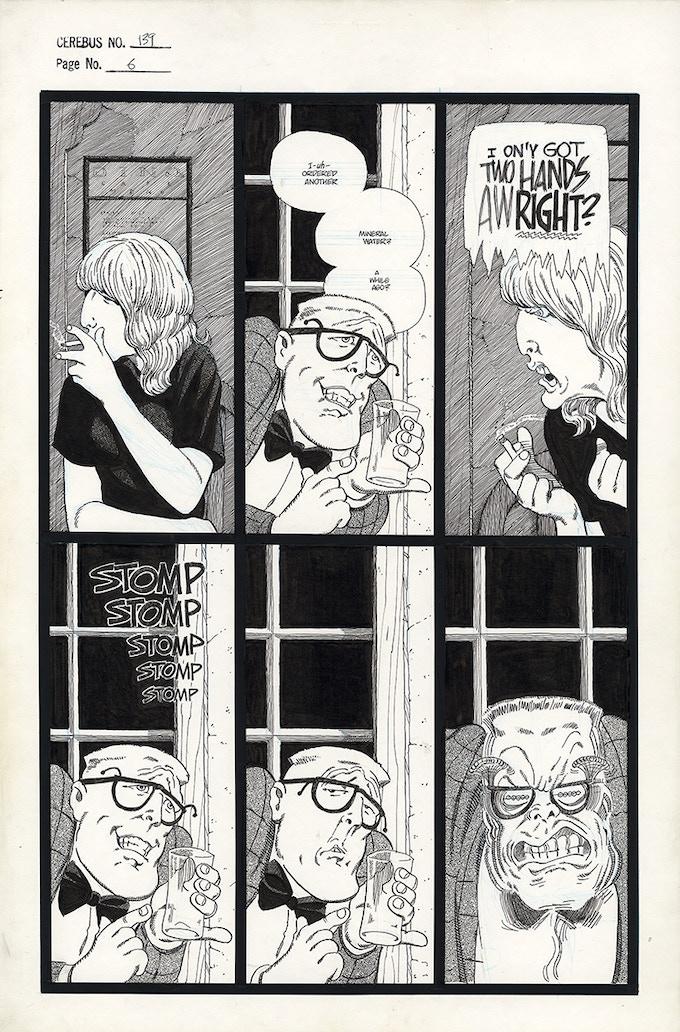 Cerebus No. 139 - Page 6