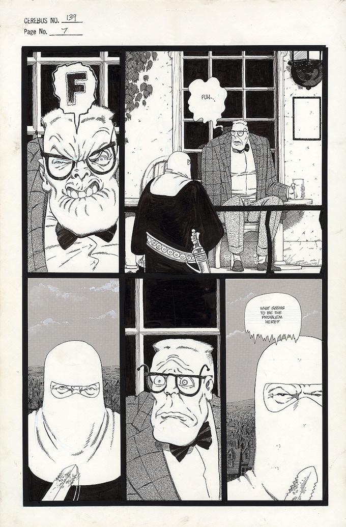 Cerebus No. 139 - Page 7