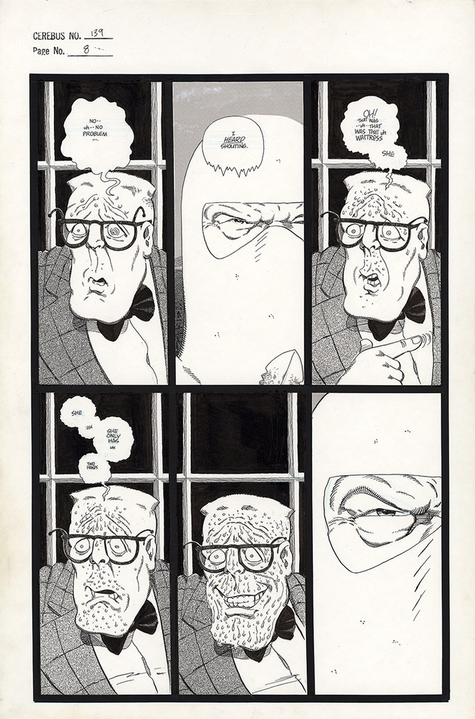 Cerebus No. 139 - Page 8