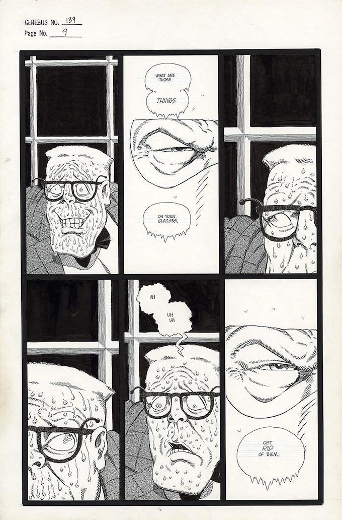 Cerebus No. 139 - Page 9