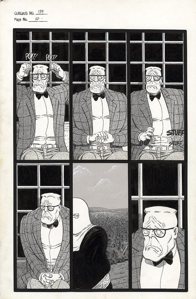 Cerebus No. 139 - Page 10