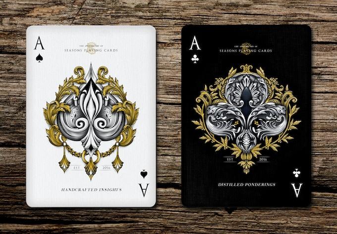 Custom Ace Illustration for Each Pack