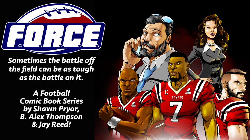 FORCE - A Football Comic Book Series project video thumbnail