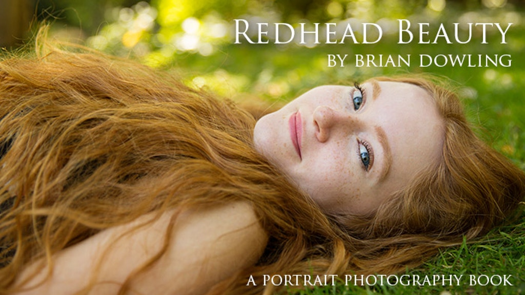 Redhead Beauty - A Portrait Photography Art Book project video thumbnail