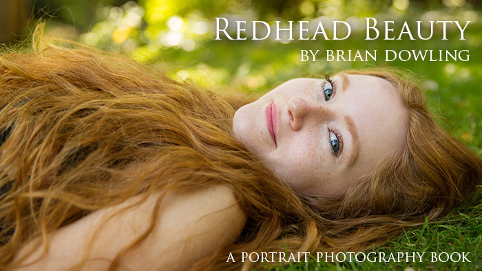 A large format art book containing portraits of Beautiful Redheads from 20 countries photographed by Brian Dowling.