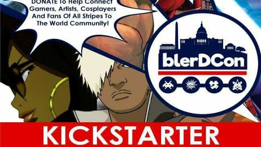 BlerDCon: Diverse Anime, Cosplay, Comics, Gaming & Geek Con! project video thumbnail