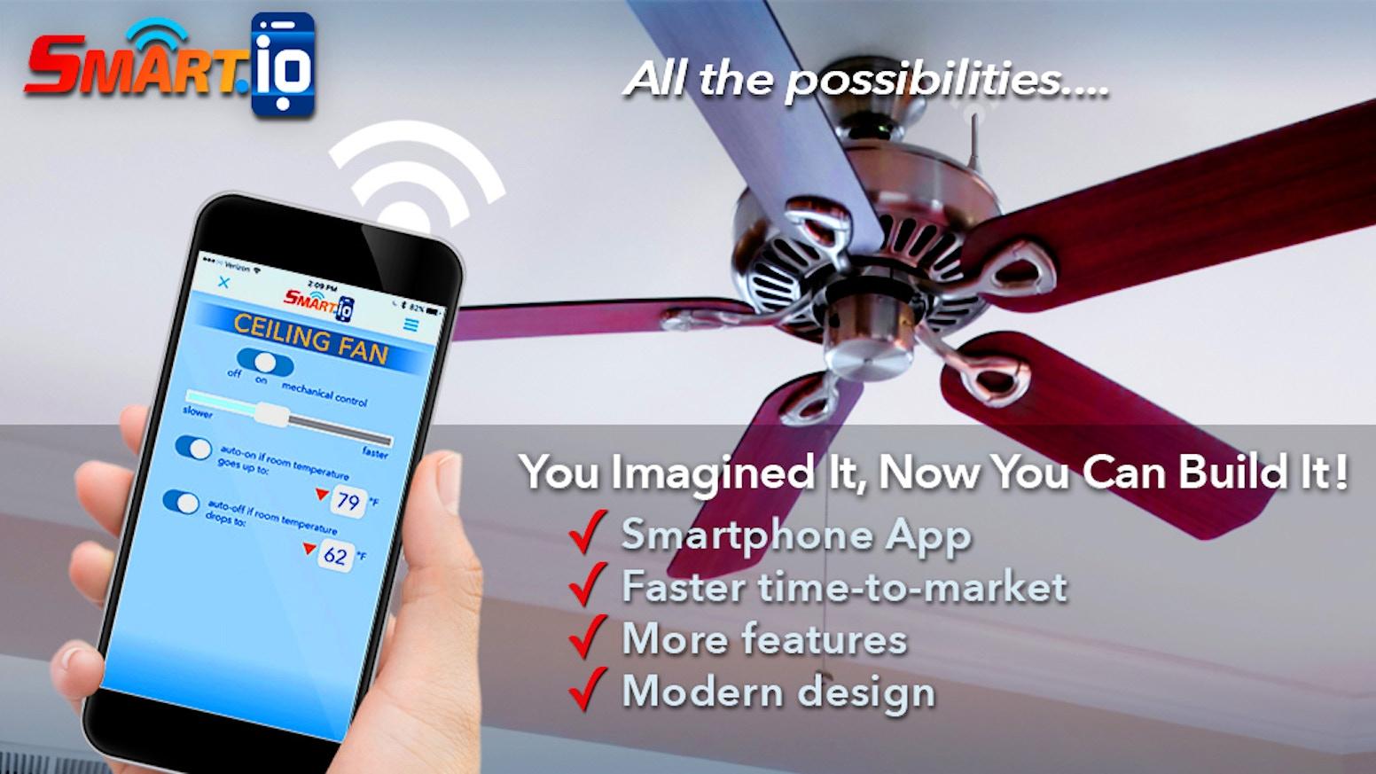 100 wifi enabled ceiling fan ifan wifi wireless remote cont