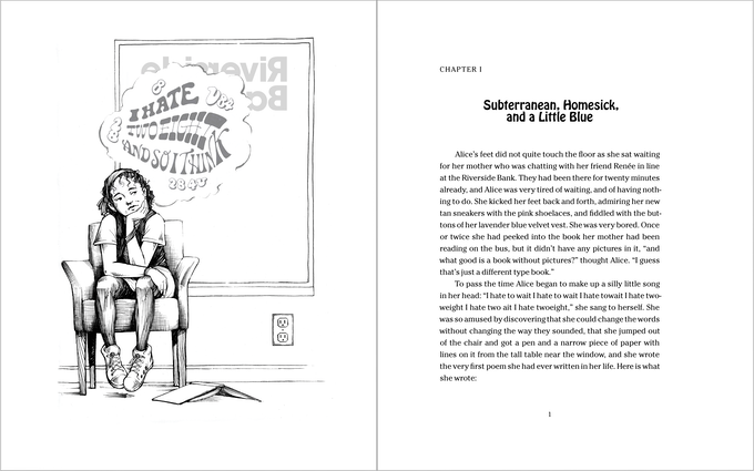 The first pages of the opening chapter.