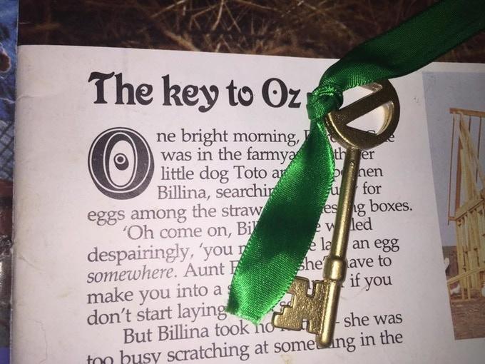 Return to Oz Replica Key