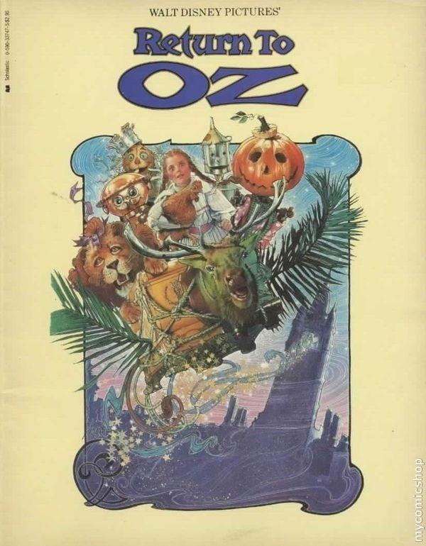 Return To Oz Comic Book