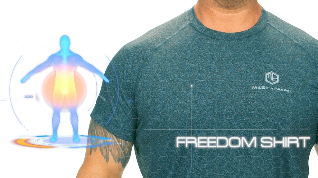 Freedom Shirt, Powerfully enhanced, Superior comfort. project video thumbnail