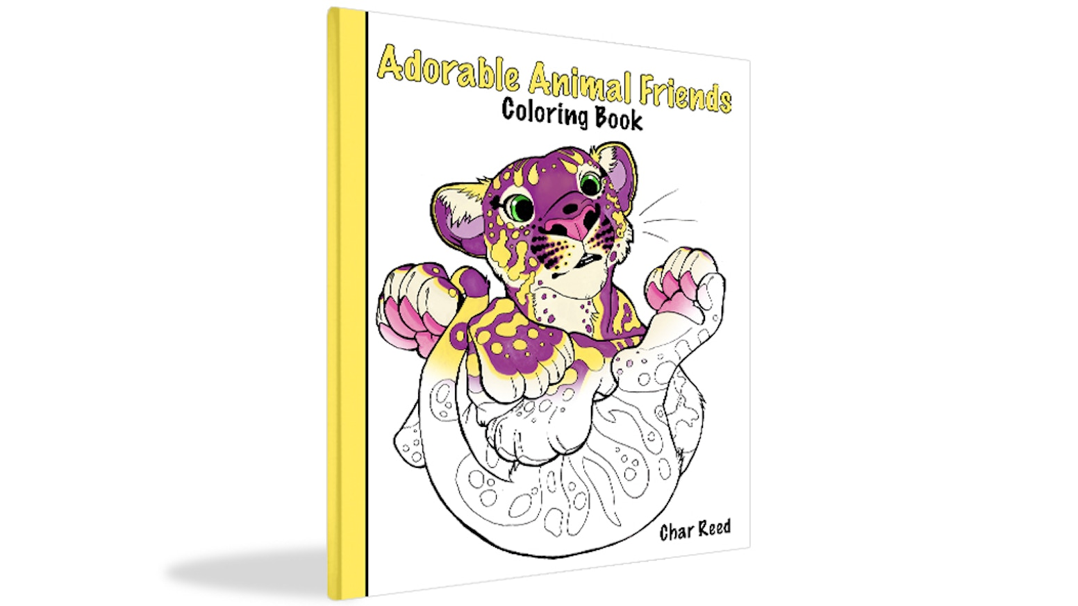 Adorable Animal Friends Coloring Book by Char Reed — Kickstarter