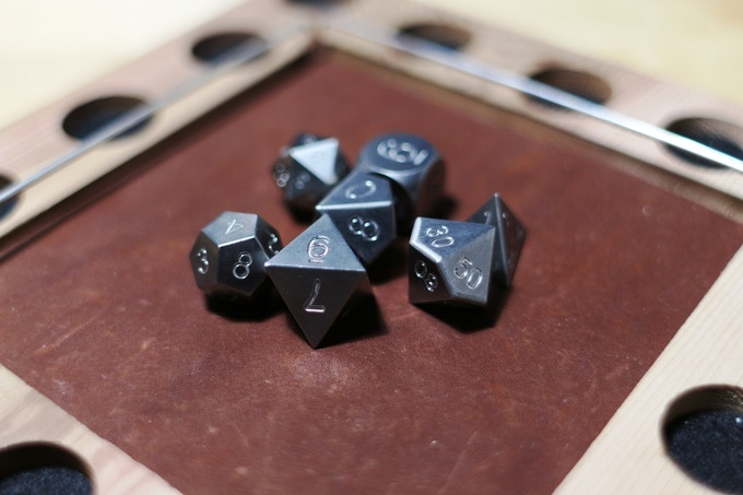 Solid Tungsten Dice