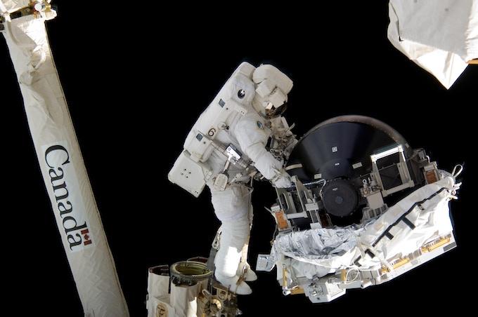 International Space Station Scale CMG - Image: NASA