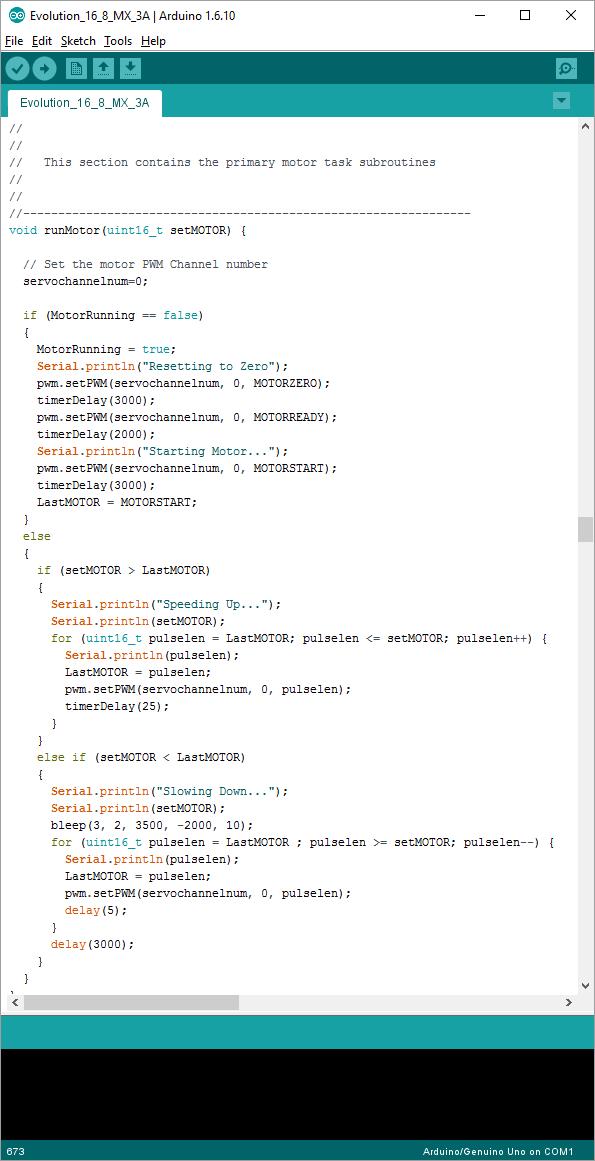 Arduino Programming Interface