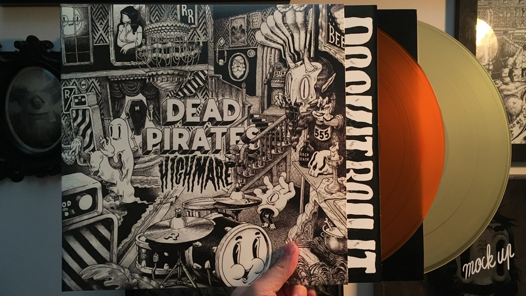 Dead Pirates / HIGHMARE LP 2nd pressing project video thumbnail