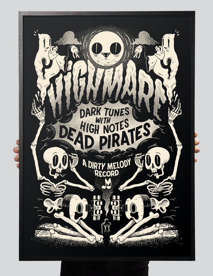 HIGHMARE LIMITED EDITION SCREENPRINT