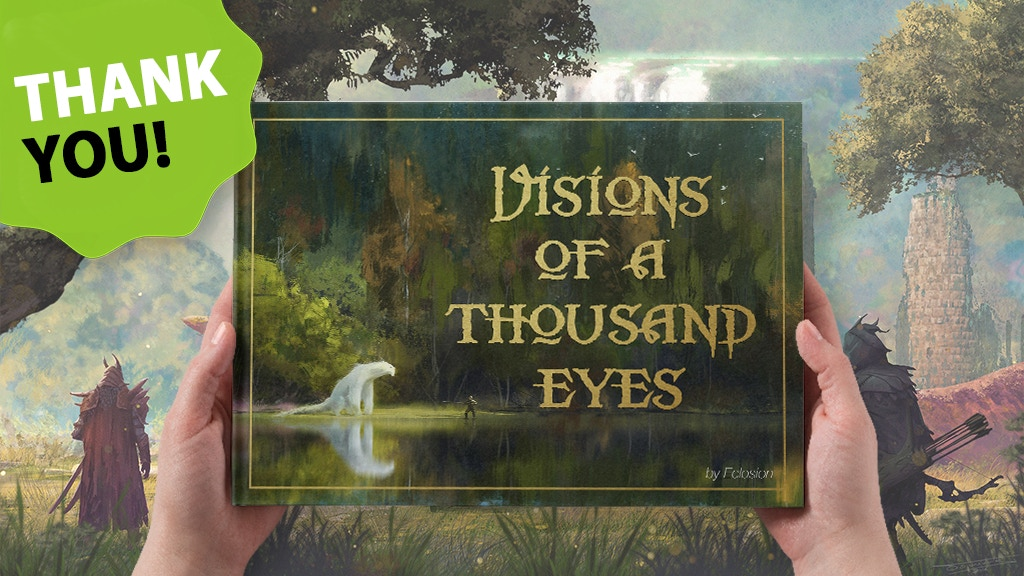 Visions of a Thousand Eyes : the ultimate fantasy artbook ! project video thumbnail