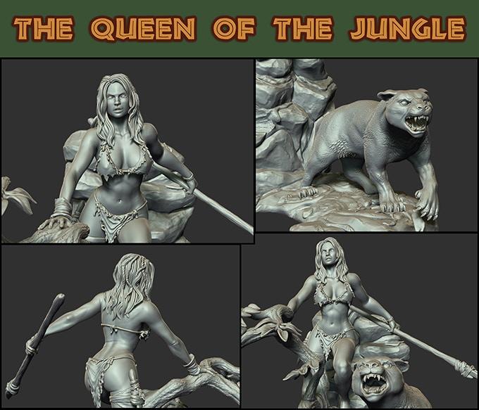 Queen Of The Jungle Screenshots