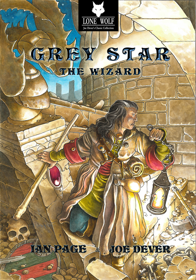 New Collector's Edition cover by Gary Chalk for Megara Entertainment