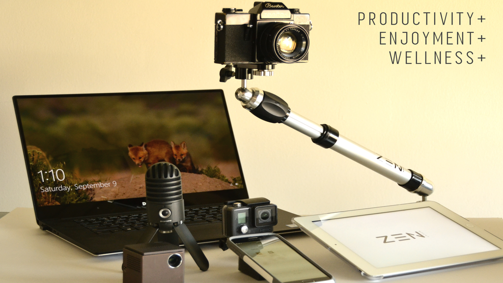 Zen Mount - The Most Over-Engineered Mount For Your Gadgets project video thumbnail
