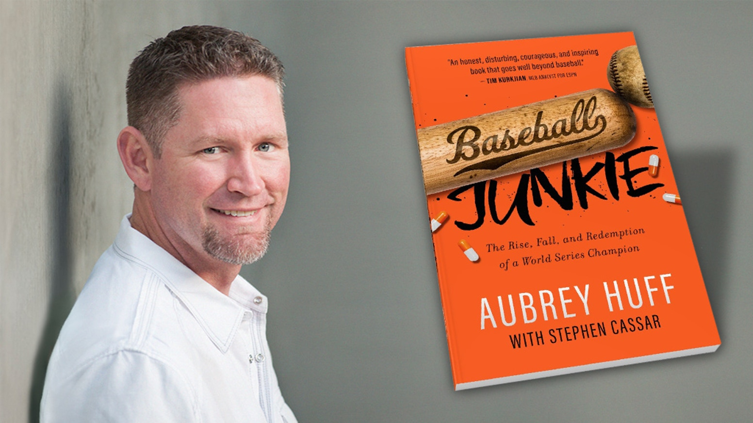 Honest, raw memoir documenting the struggles 2-time World Series Champion Aubrey Huff endured on and off the field.