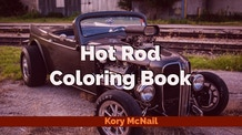 Hot Rod Coloring Book