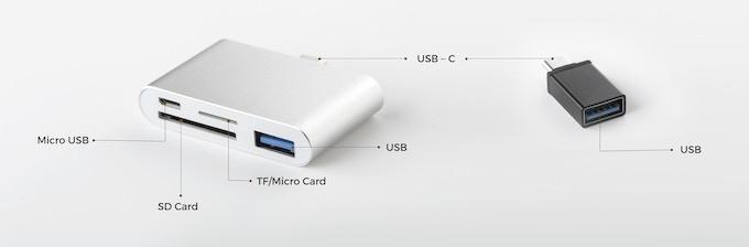 USB-C Hub and USB-C adapter