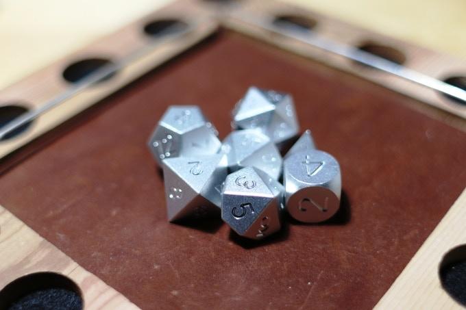 Silver Anodized Aluminum