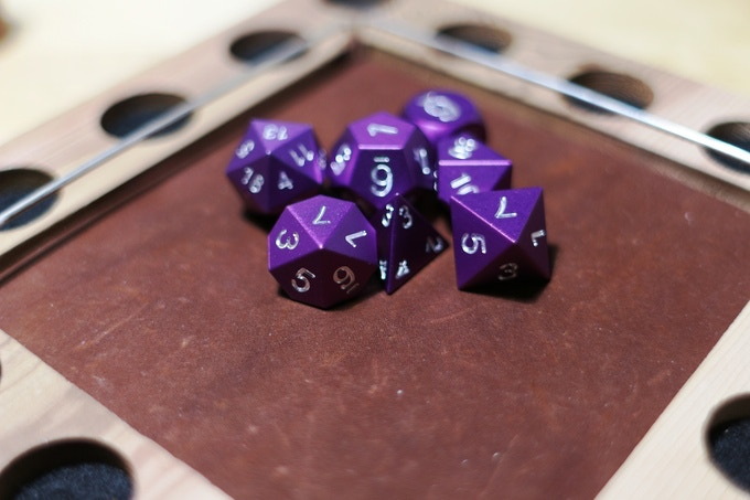 Purple Anodized Aluminum