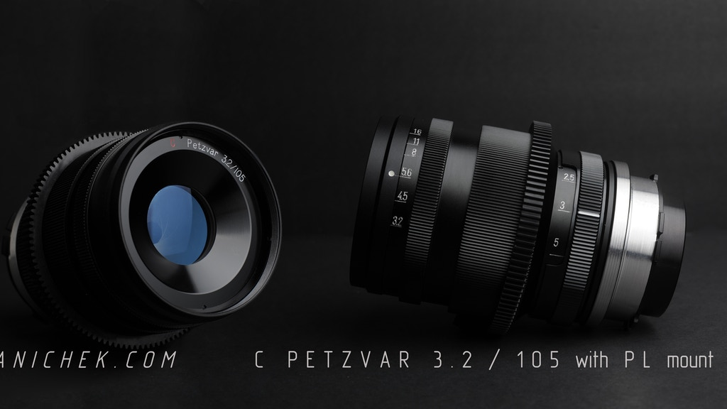 The Petzvar medium format petzval lens now adapted for video project video thumbnail