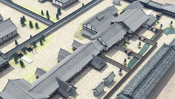 Daimyo residence -overview-