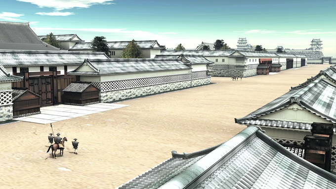 Daimyo residence -frontview-