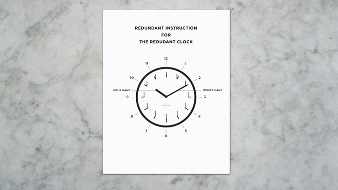 Redundant instructions on how to read the Redundant Clock is also included.