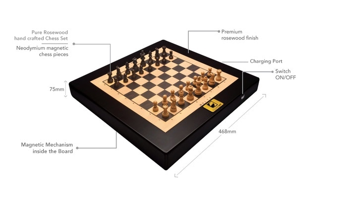 Square Off - World's Smartest Chess Board by InfiVention