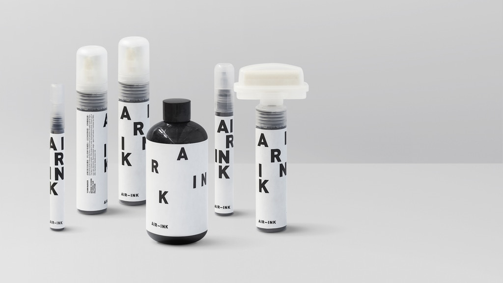 AIR-INK: The world's first ink made out of air pollution project video thumbnail