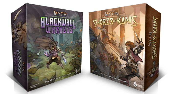 Continue the path of the Hero and forge amazing new stories with the Myth Journeyman expansions.