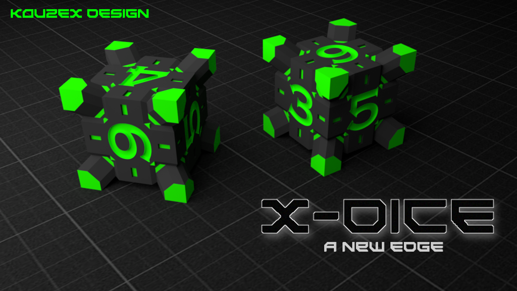Project image for X-DICE: A Sharper Redesign Of The Classic Gamepiece