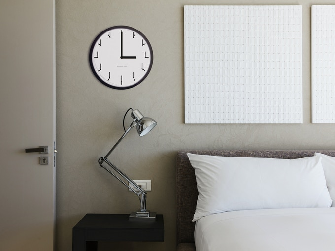 Redundant Clock looks great in homes.