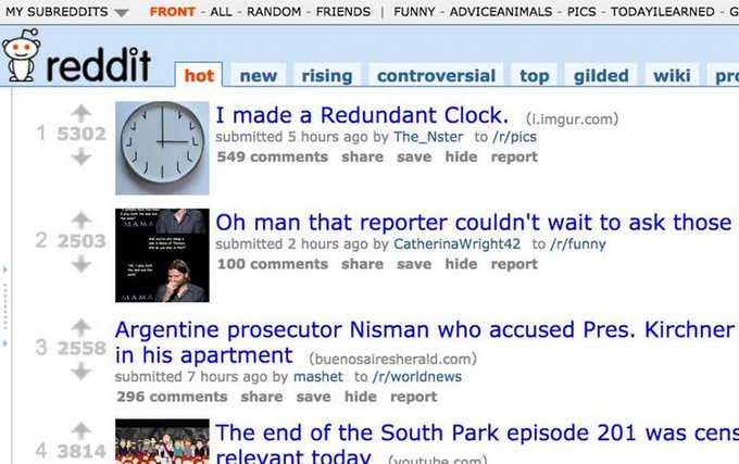 Someone liked the Redundant Clock so much, he made his own prototype and posted on Reddit. It became a number 1 post.