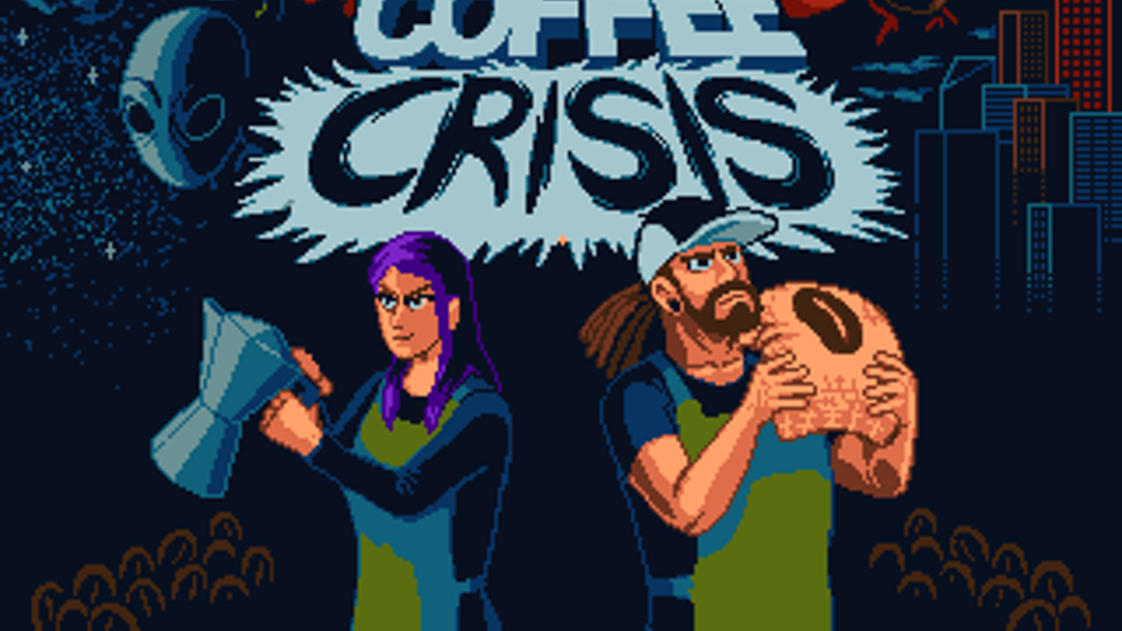 Coffee Crisis for the Sega Genesis - Metal, Aliens & Awesome project video thumbnail