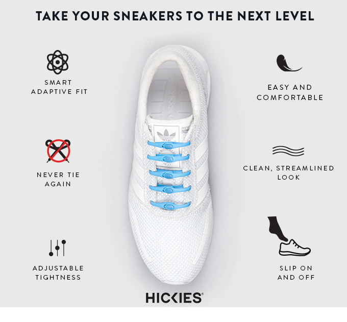 HICKIES 2.0 The Evolution of Shoelaces by Mariquel