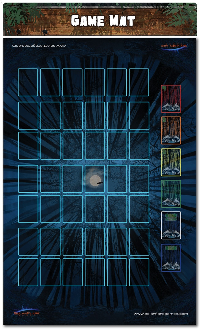 Note: This Mat can be used with BOTH Dead Run and Alien Invasion (we will provide a FAQ about it)