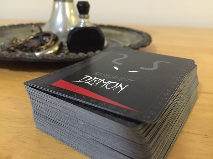 Banishment card game prototype