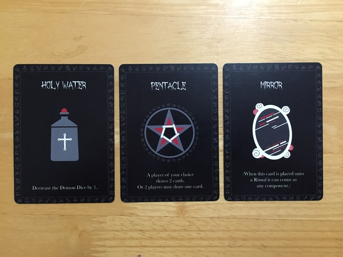 Most Exorcist cards have two functions - which will you use?