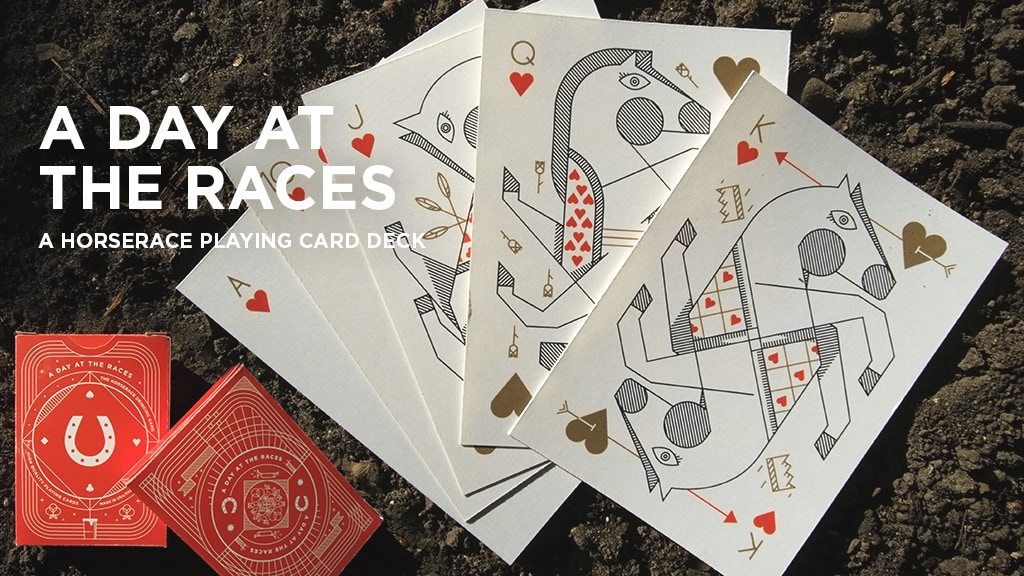 Project image for A Day At The Races: A Horserace Playing Card Deck