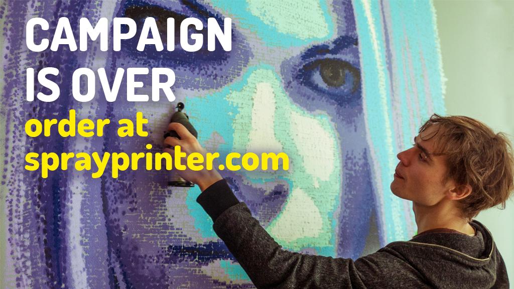 SprayPrinter: Smart Spray Paint Technology project video thumbnail