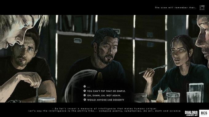 Concept Gameplay: Dialogs
