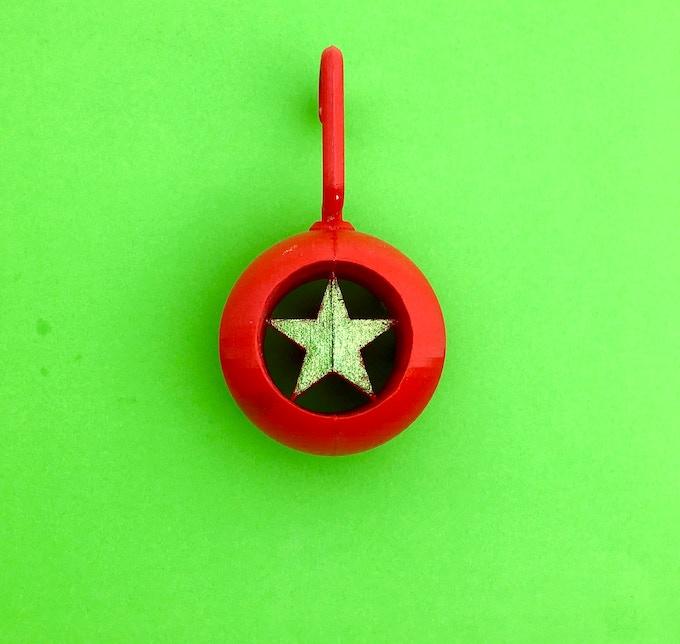 """Holey Star"" Ornament"