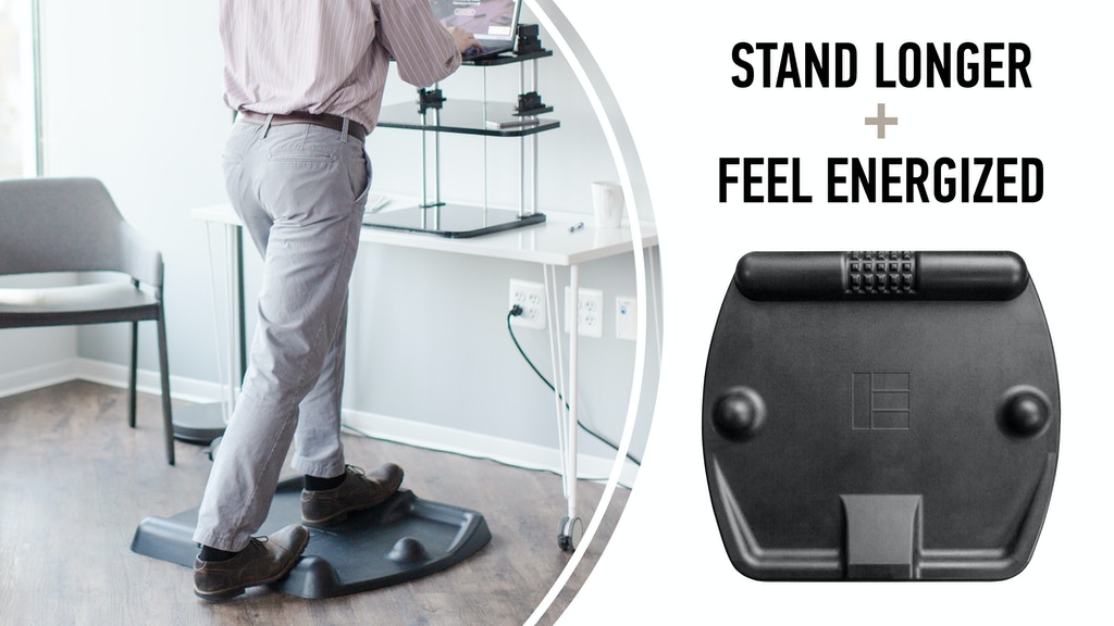 CubeFit TerraMat | The Ergonomic Standing Desk Mat project video thumbnail